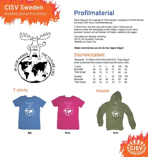 T-shirts och hoodies hösten 2019!