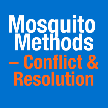 Mosquito Methods - Conflict and Resolution